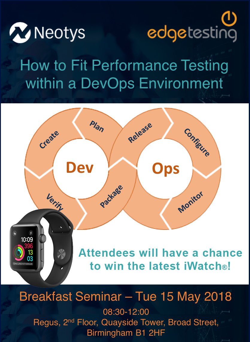 How to Fit Performance Testing within a DevOps Environment