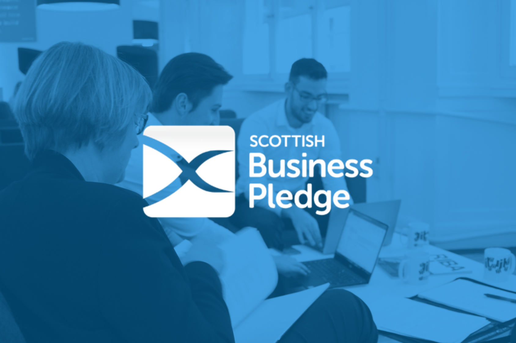 We've signed up to the Scottish Business Pledge